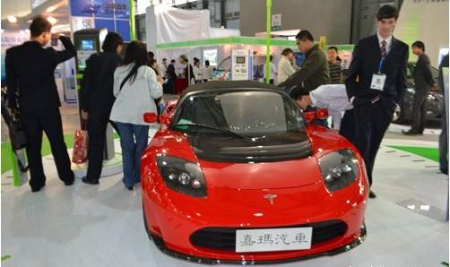 新能源也玩跑车 特拉斯纯电动跑车性能远超保时捷高清图片