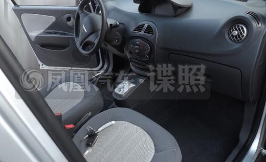 瑞麒X1增程式电动车谍照曝光 有望年内上市高清图片