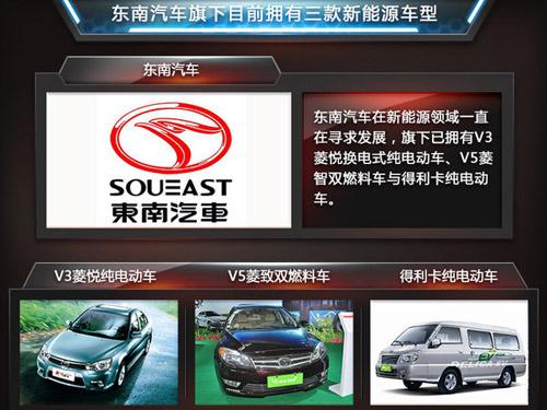 东南推2款新能源车 增程式电动车续航460公里高清图片
