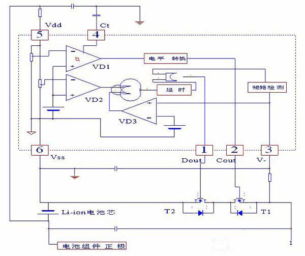 锂电池保护板原理