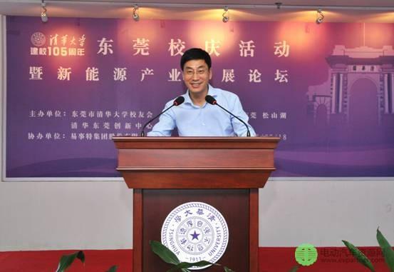 清华大学常务副书记、副校长姜胜耀盛赞董事长何思模教授是清华校友的骄傲