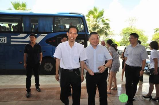 海关总署缉私局副局长徐文荣到访