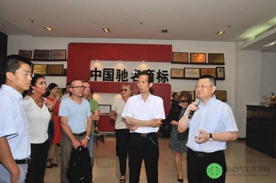 董事长何思模教授表示欢迎
