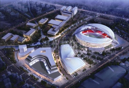 先控电气服务于浙江温州奥林匹克体育中心